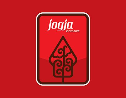 Badge design of Jogja Istimewa