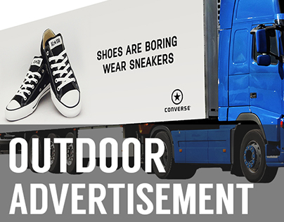 Truck Mockup PSD for Free (Outdoor Advertisment)