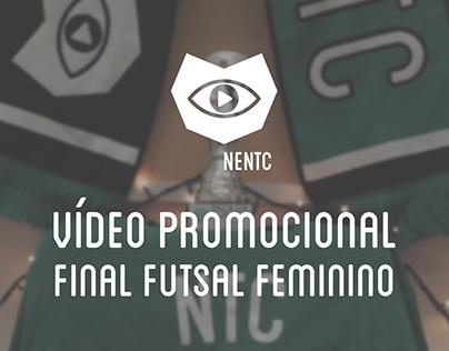 Promo NENTC - Final do Futsal Feminino da Taça UA