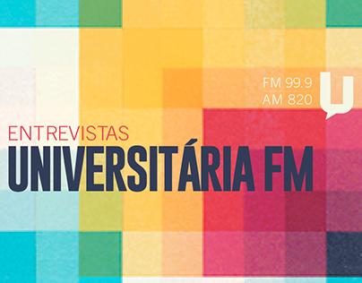 Universitária FM | Entrevistas Radiofônicas
