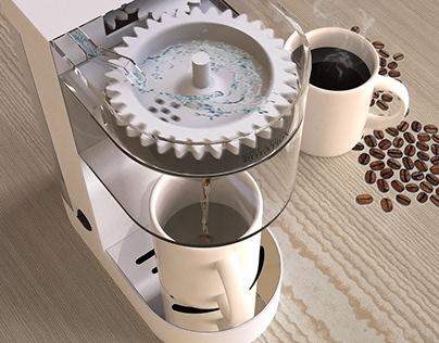 Rotation Automatic Coffee Maker