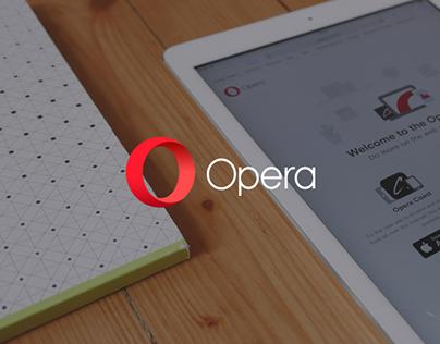 Meet Opera Family — Landing Page