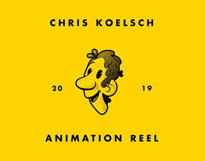 Chris Koelsch Animation Reel 2019