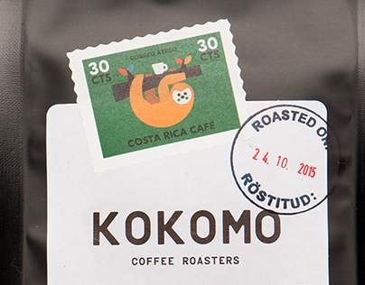 Kokomo Coffee packaging