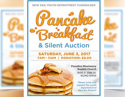New Era Youth Dept Pancake Breakfast Fundraiser