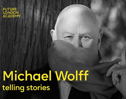 Graphic Design legend Michael Wolff Telling stories