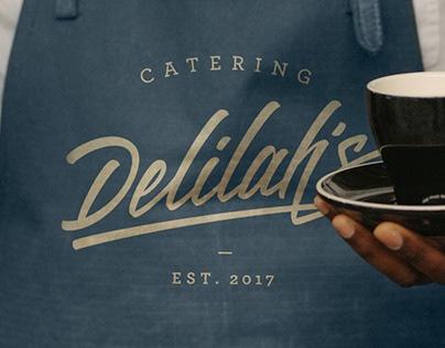 Delilah Cafe Rebrand