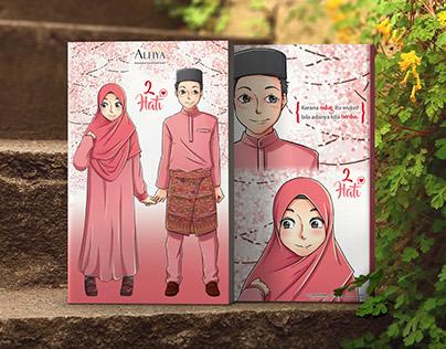 2 Hati Book Cover