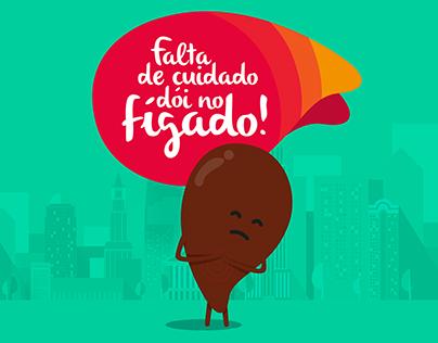 Falta de cuidado dói no fígado!