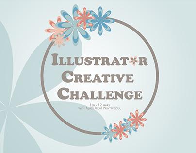 Illustrator Creative Challenge | 1er au 12 mars 2021