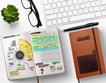 Achiever Planner   with Smart Pocket Organizer