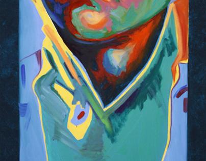 "Projet: Portraits ""Regard-moi,  Little David II"", 2010"