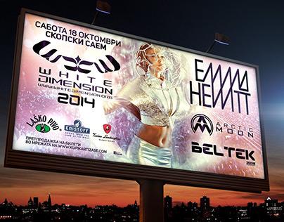 Flyers, posters, billboards (print & web)