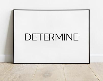 Determine - logotype