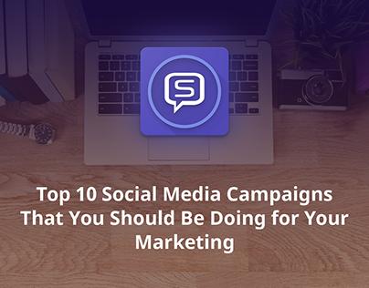 Sociamonials Best Social media campaigns