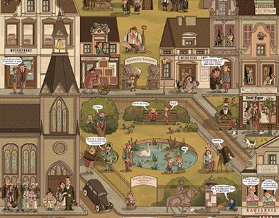 """Time Vehicle"" - Illustrations"
