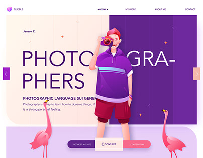 Beautiful Examples of Web Illustration For Inspiration