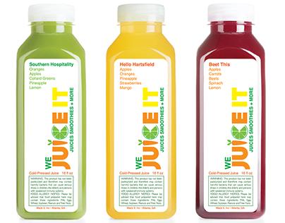We Juice It Branding