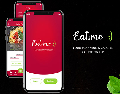Eat.me - Food scanning & Calorie counting mobile app