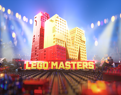 Lego Masters Broadcast Graphics