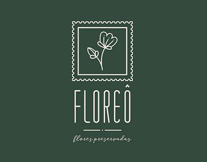 Naming e Identidade Visual | Floreô Flores Preservadas