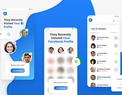 Facebook Visitors app