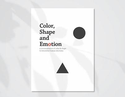 Color, Shape & Emotion