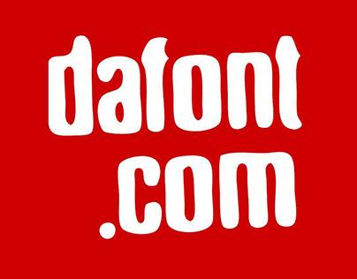 La tipografía importa - Dafont
