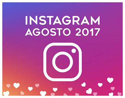 Instagram | Agosto 2017