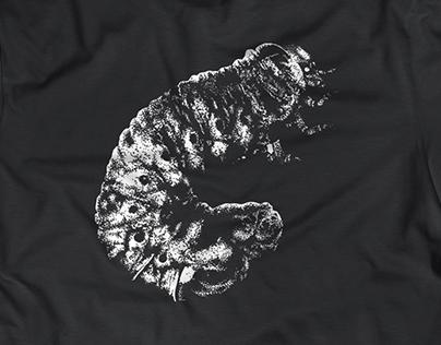 WORMS UNDER FLESH | T-Shirt Design