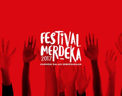 Festival Merdeka 2017 - Event Branding