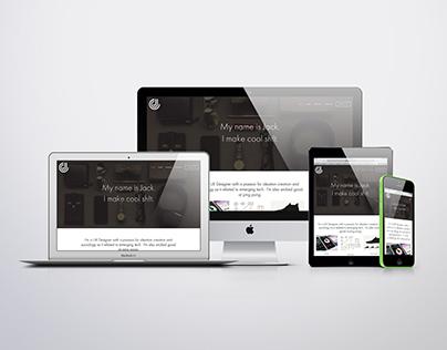 Jack Cowan Personal Website