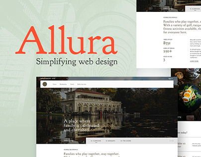 Allura - web design solution
