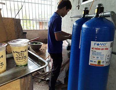 Báo giá bộ lọc nước đầu nguồn – nước nhiễm sắt