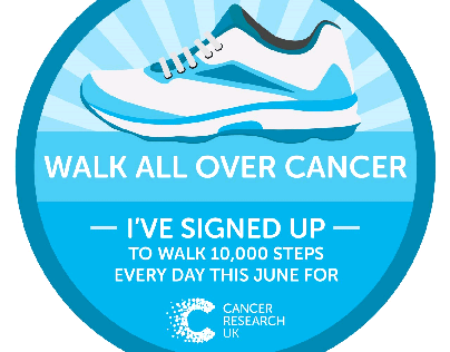 Walk all over cancer