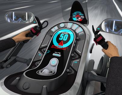 BMW 1150GEth Dashboard design