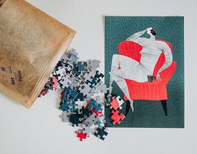 Illustration series for Muno Puzzle