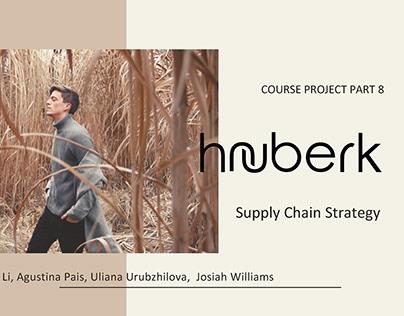 Hauberk Men Knitwear – Supply Chain Strategy