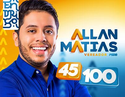 Allan Matias Vereador | Campanha eleitoral
