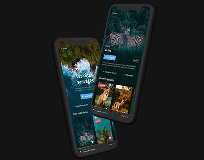 UI Mobile App - Ghost project - Smart Design