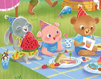 """Cake for Breakfast"" Children's book by Igloo Books UK"