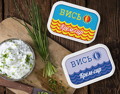 """Packaging for white cheese """"Вись"""". Concept"""