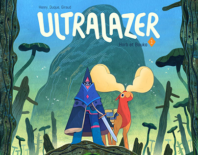 Ultralazer the comic book