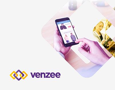 Venzee – Brand Refresh & Web Experience