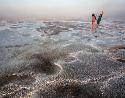 ETHIOPIA: Lake Assale, Danakil Depression
