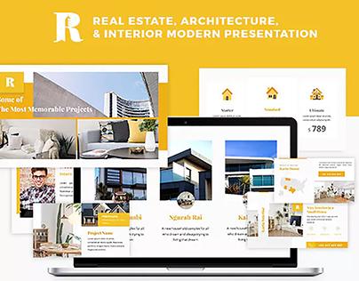 Rancang Architecture Presentation Template Download