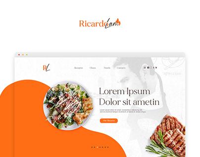 Ricardo Lam | Web Design