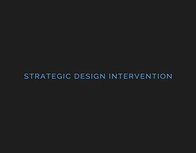 Design Process - Strategic Design Intervention