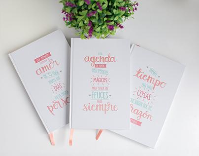 Agendas de boda / Wedding planners