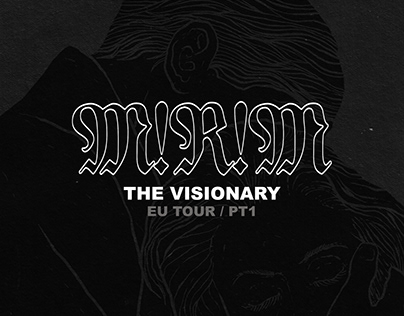 "M!R!M / T-Shirt & Flyer Design ""The Visionary"""